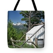 Wrangler Tent With A View Tote Bag