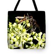 Wrangling Wasps Tote Bag