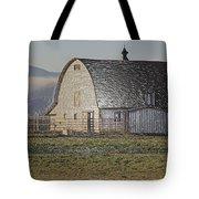Wrapped Barn Tote Bag
