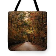 Wrapped In Autumn Tote Bag by Jai Johnson