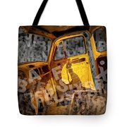 Wreck On The Information Highway Tote Bag