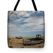 Wrecked Boats Dungeness Tote Bag
