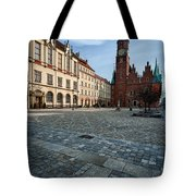 Wroclaw Town Hall Tote Bag