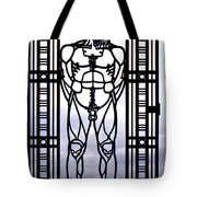Wrought Iron Gate Tote Bag
