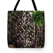 Wrought Iron Tote Bag