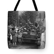 Wwii Liberation Of France Tote Bag