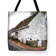 Wye Mill - Water Color Effect Tote Bag by Brian Wallace