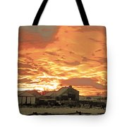 Wyoming Sunrise 1 Tote Bag