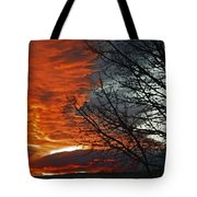 Wyoming Sunrise 2 Tote Bag