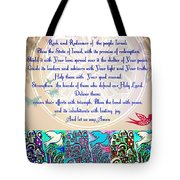 x Judaica Prayer For The State Of Israel Tote Bag