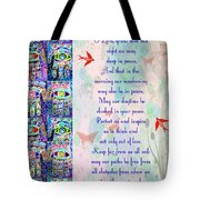 x Judaica Prayer Of Protection Tote Bag