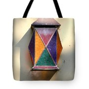 X Marks The Lamp Tote Bag