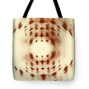 X-ray Diffraction Tote Bag