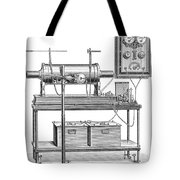 X-ray Equipment With Operating Batteries Tote Bag