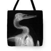 X-ray Of A Mallard Duck Head Tote Bag