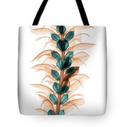 X-ray Of An Acanthus Flower Tote Bag