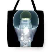 X-ray Of An Energy Efficient Light Tote Bag