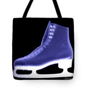 X-ray Of An Ice Skate Tote Bag