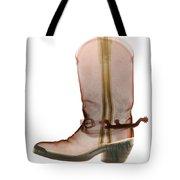 X-ray Of Cowboy Boot Tote Bag