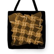X-ray Of Mathematical Origami Tote Bag