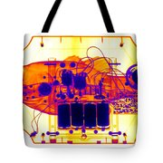 X-ray Of Mechanical Fish Tote Bag