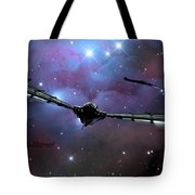 Xeelee Nightfighters, Inspired Tote Bag by Rhys Taylor