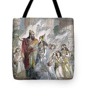 Xerxes I & Esther Tote Bag