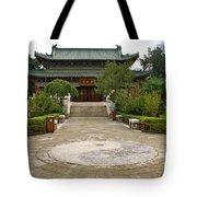 Xi'an Temple Garden Tote Bag