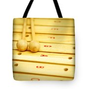 Xylophone Tote Bag by Tom Gowanlock