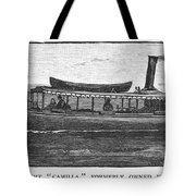 Yacht, 1882 Tote Bag