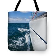 Yacht Lines Tote Bag