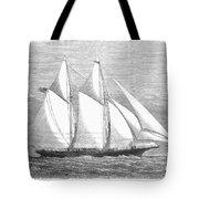 Yacht: Sappho, 1868 Tote Bag