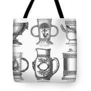 Yachting Trophy, 1880 Tote Bag