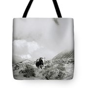 Yak In The Himalaya Tote Bag
