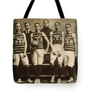 Yale Basketball Team, 1901 Tote Bag by Granger