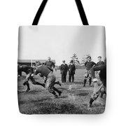 Yale: Football Practice Tote Bag