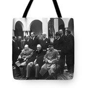 Yalta Conference, 1945 Tote Bag