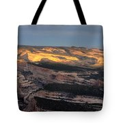 Yampa Bench Sunset One Tote Bag