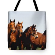 Yearling Thoroughbred Tote Bag