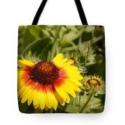 Yellow And Red In The Sunshine Tote Bag