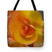 Yellow Begonia Tote Bag
