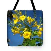 Yellow Bells Tote Bag