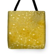 Yellow Bubbles Tote Bag