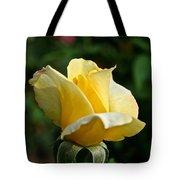 Yellow Bud Tote Bag