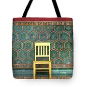 Yellow Chair At The Imperial Palace Tote Bag