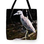 Yellow Crowned Night Heron II Tote Bag