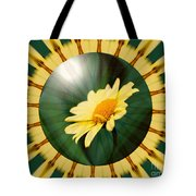 Yellow Daisy Energy Tote Bag
