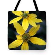 Yellow Duet Tote Bag