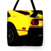 Yellow Ferrari Tote Bag