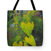 Yellow Heart Leaves IIi Photoart Tote Bag